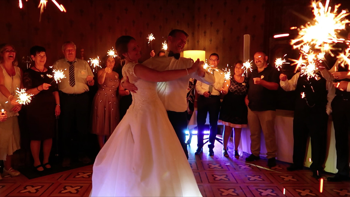 Hochzeitstanz Brautpaar
